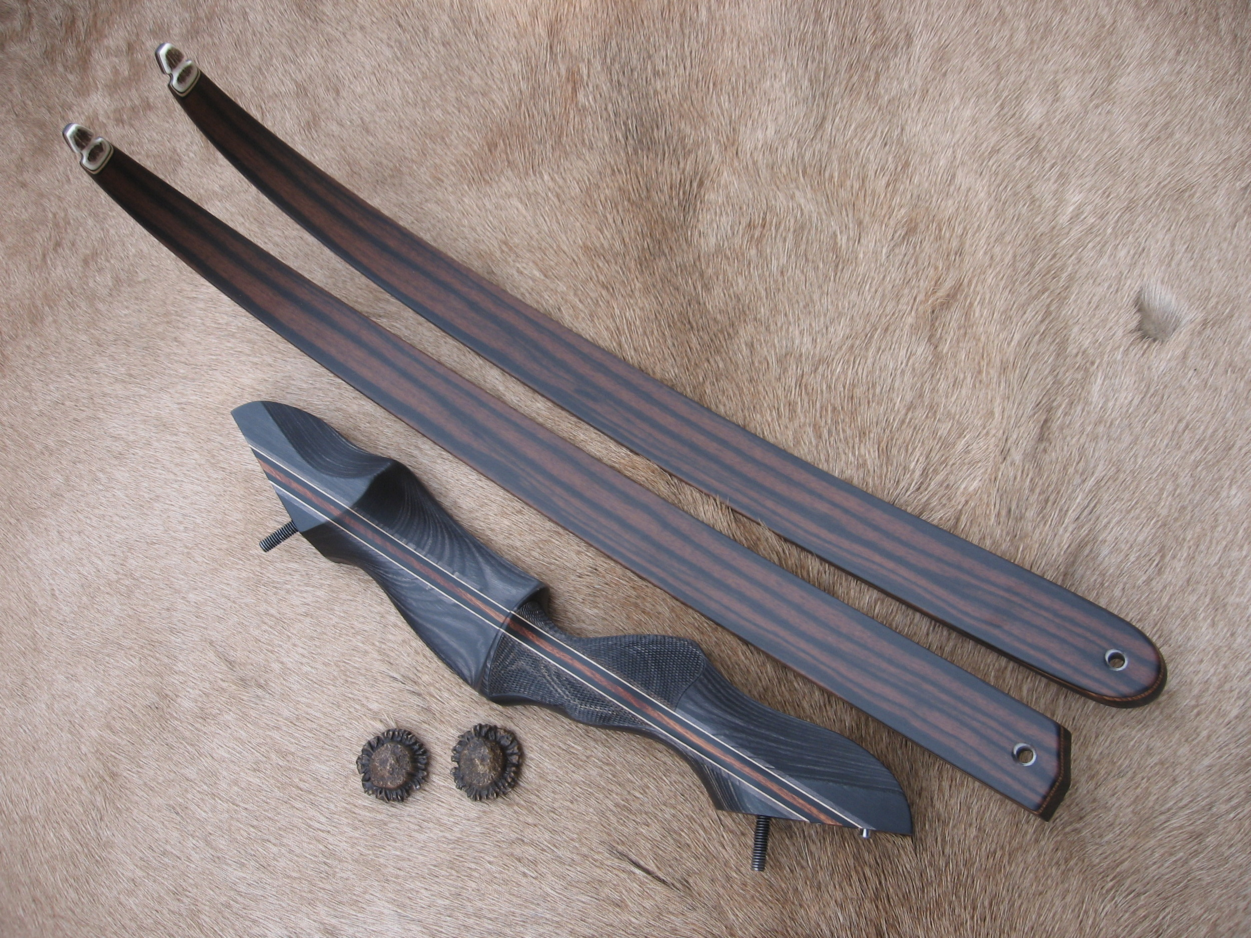 Charcoal Dym Riser- Macassar Ebony Limbs