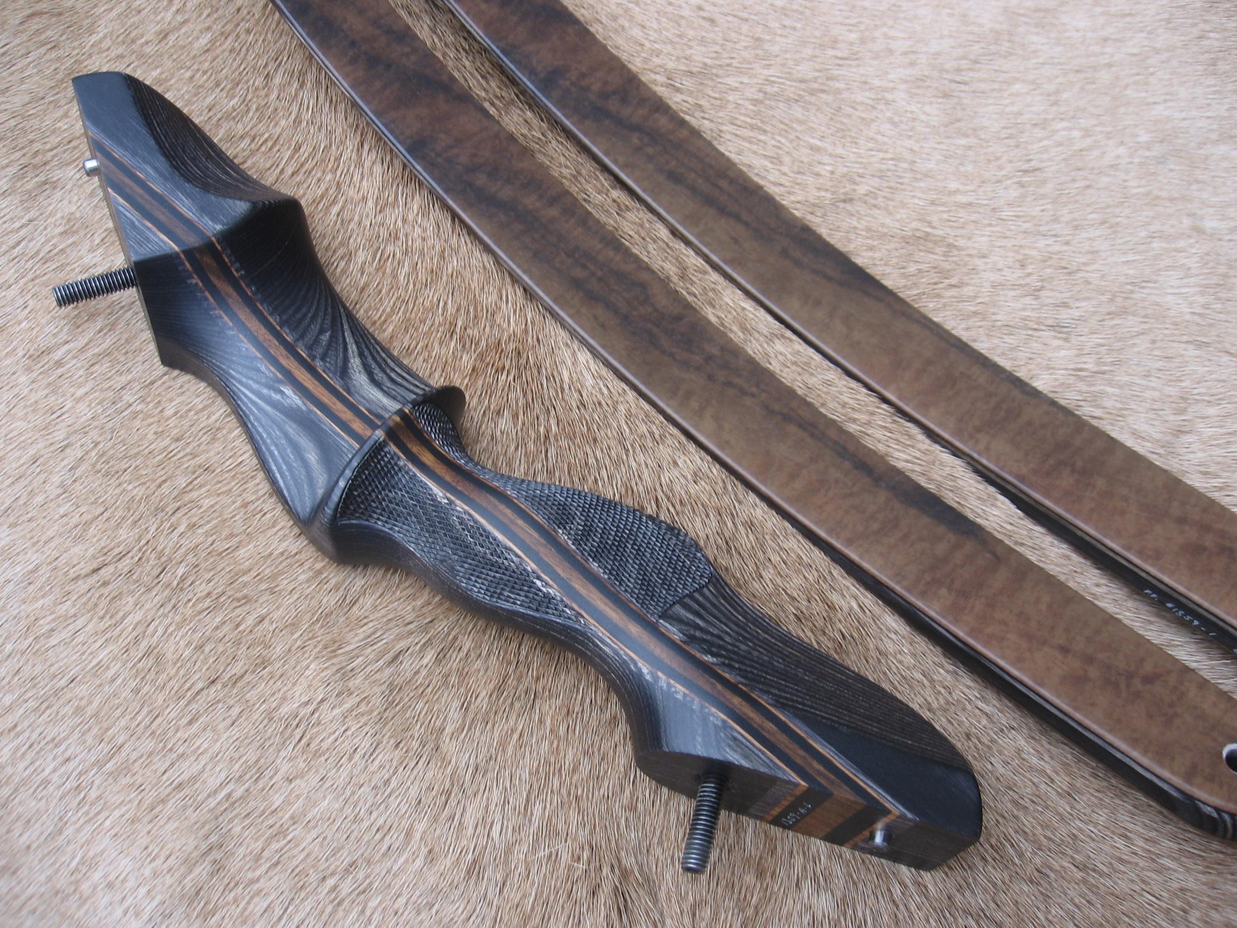 Charcoal Dym Riser- Walnut Burl Limbs