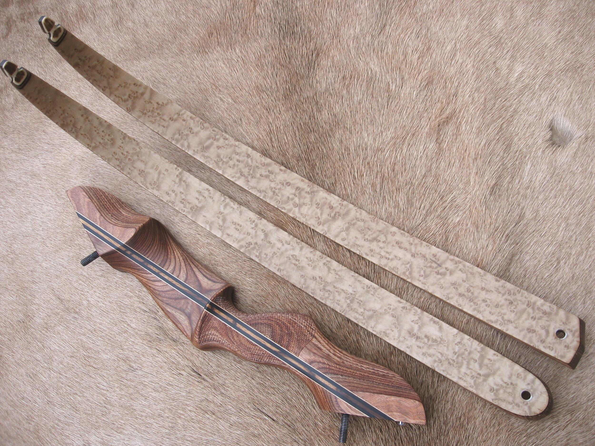 Walnut Dym Riser- Birdseye Maple Limbs