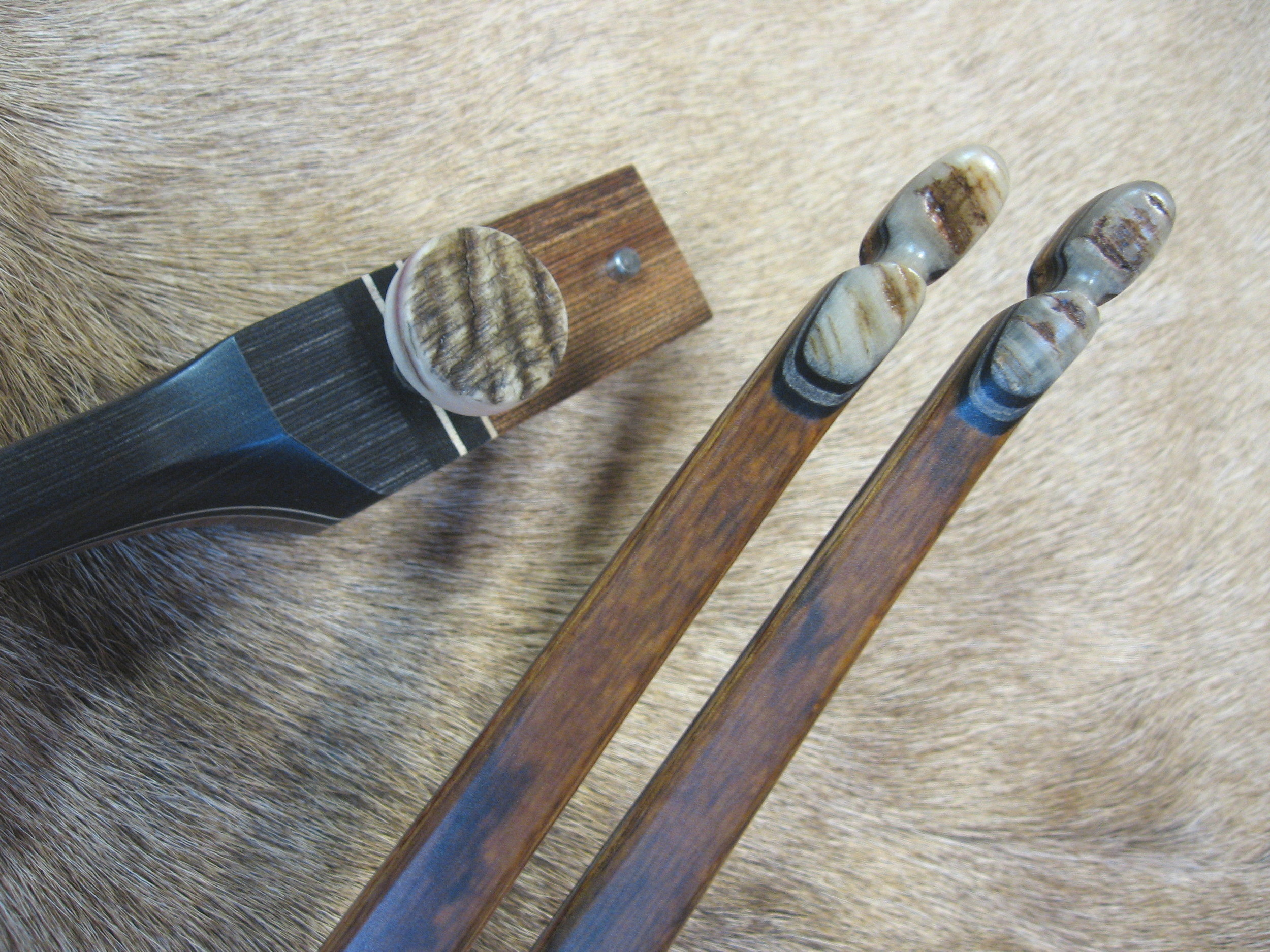 Sheep Horn Knobs and Tips