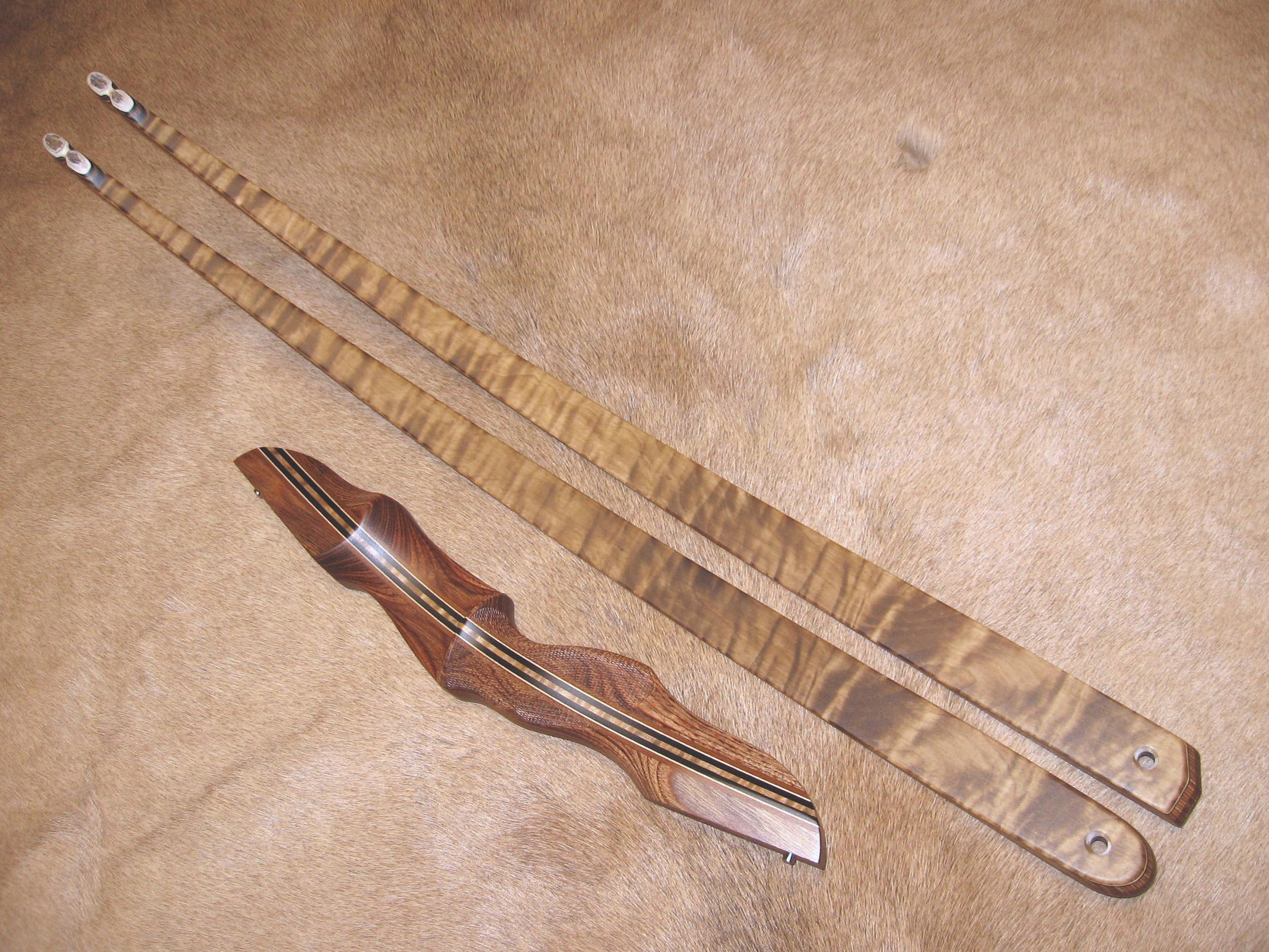 Walnut Dym Riser- Quilted Maple LImbs