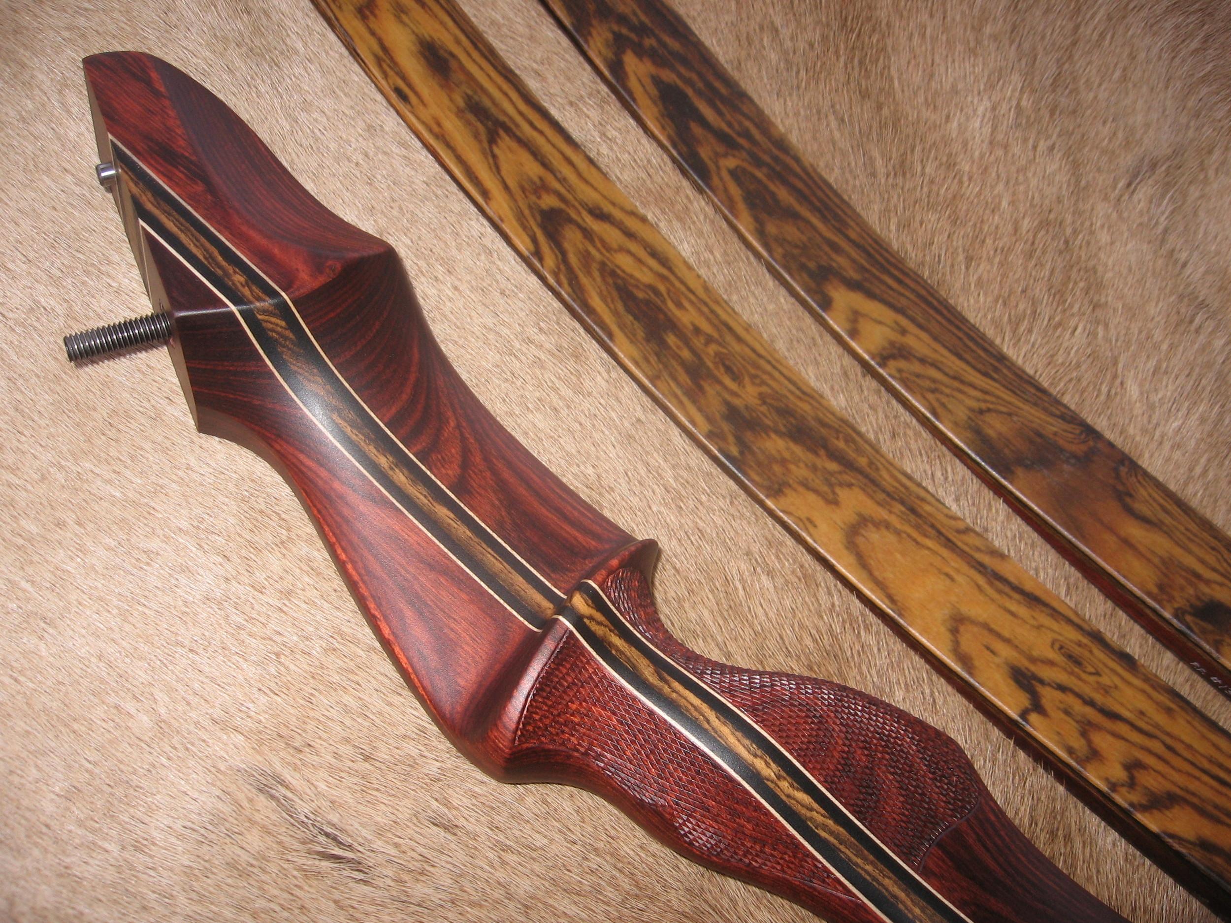 Rosewood Dym Riser- Bocote Limbs