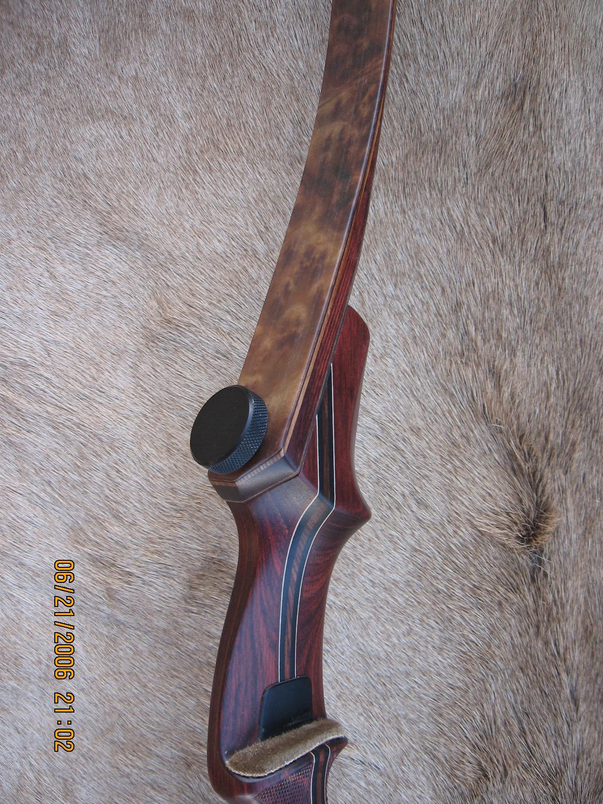 Rosewood Dym Riser- Camphor Burl Limbs