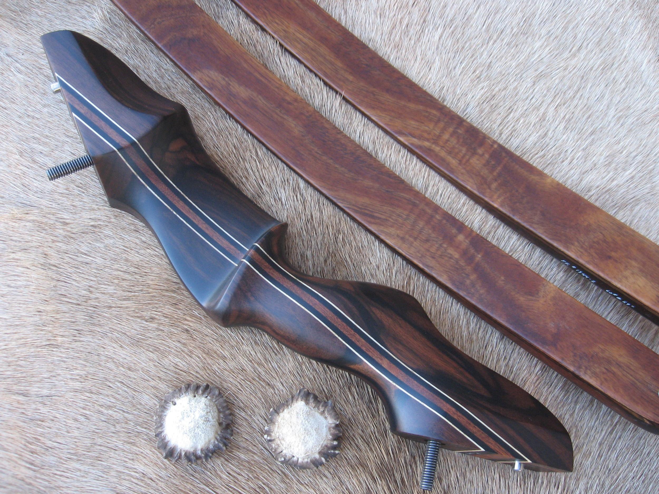 Mascassar Ebony Riser- Koa Limbs