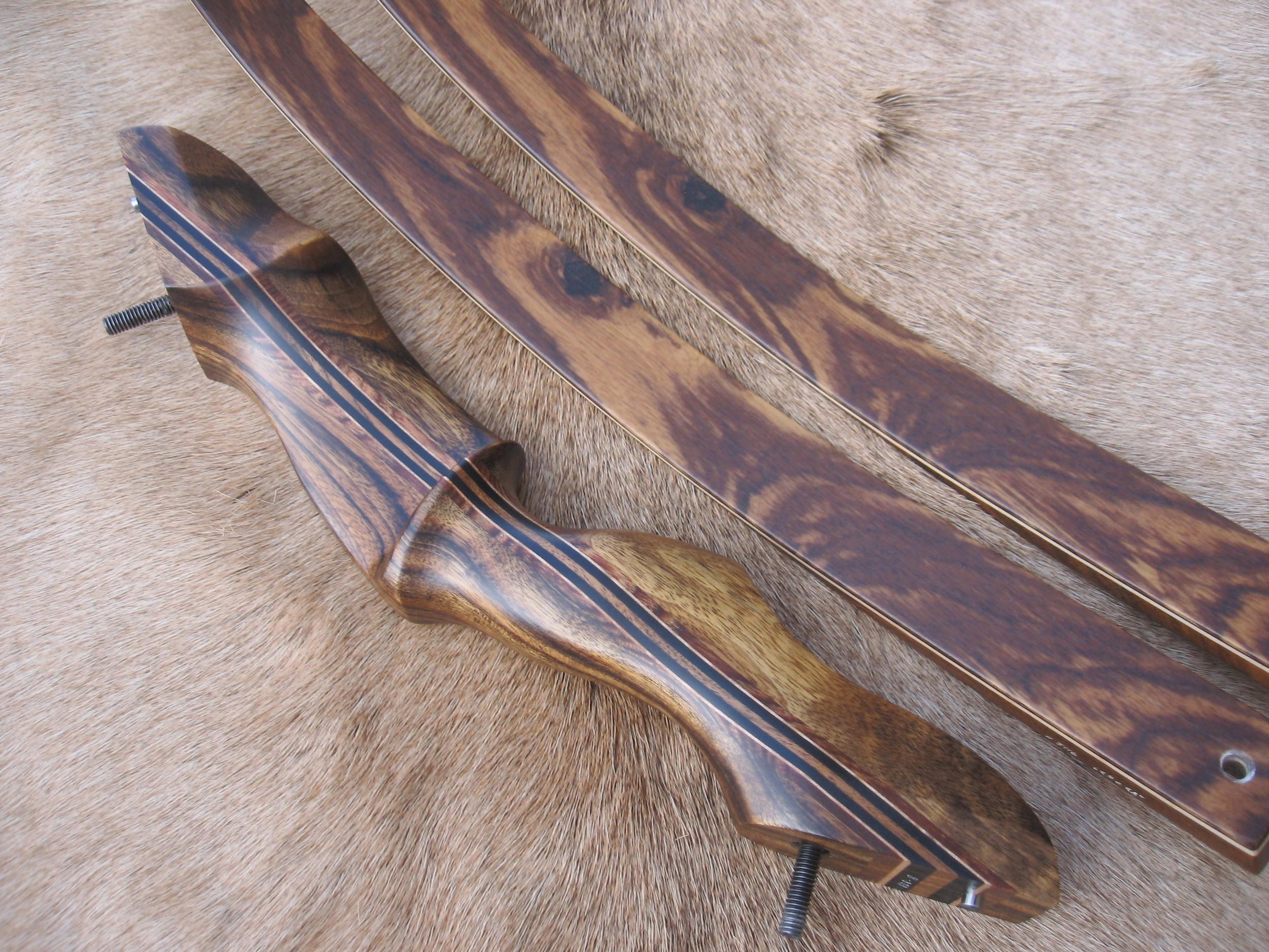 Zebrawood Riser- Zebrawood Limbs