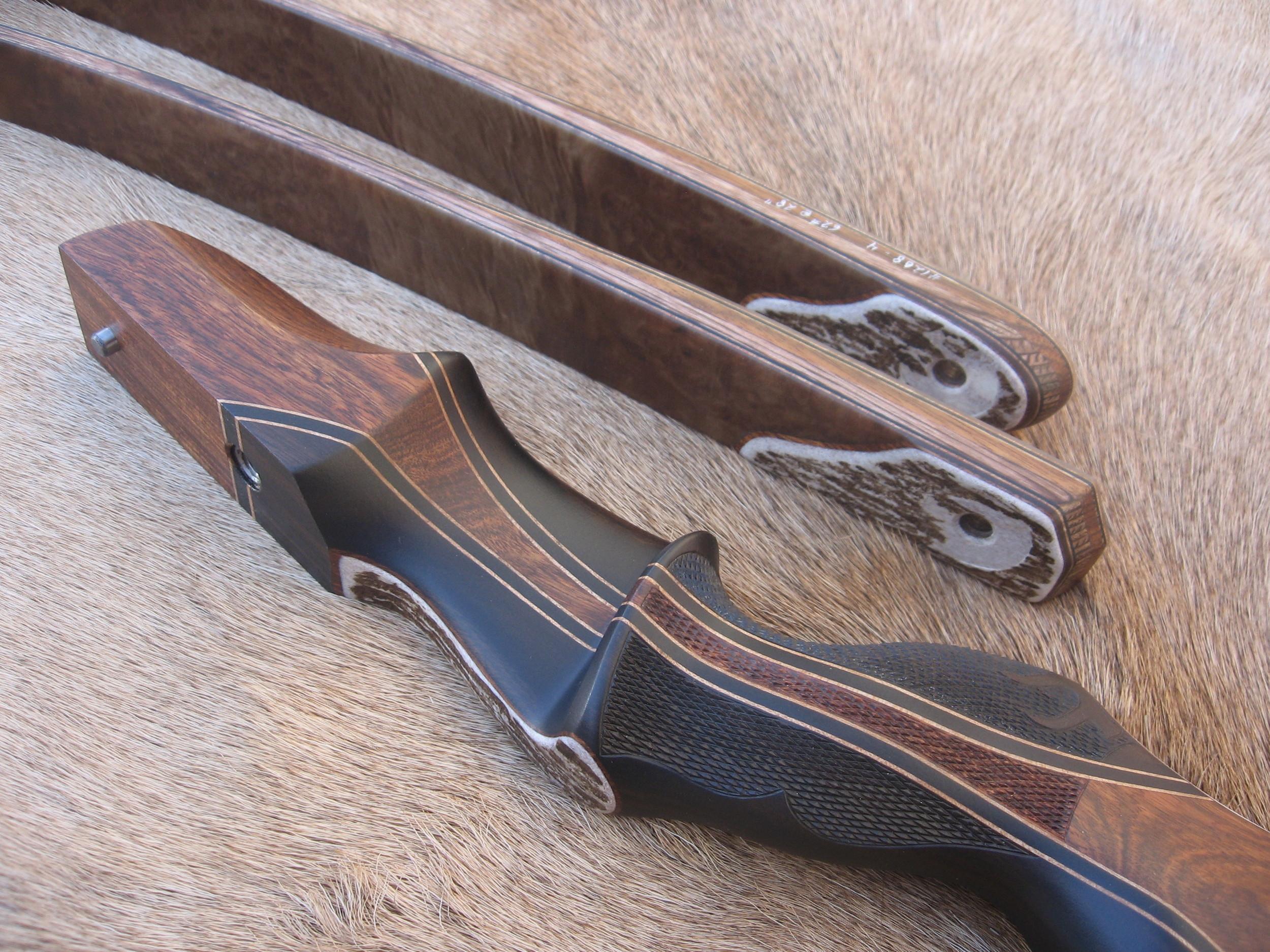 """S"" shape- Rough Elk Antler"