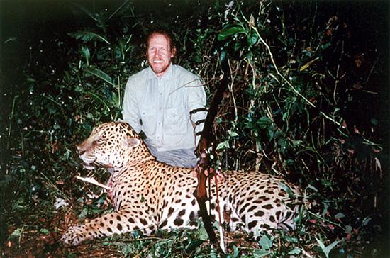 Ken Grosslight with Jaguar