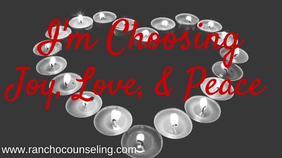 joy love peace tragedy