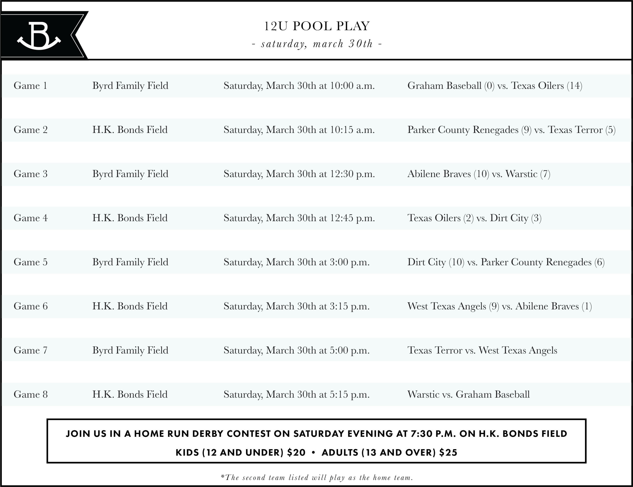 Rocker B Ranch Baseball Tournament Pool Play (March 29th - March 31st).png