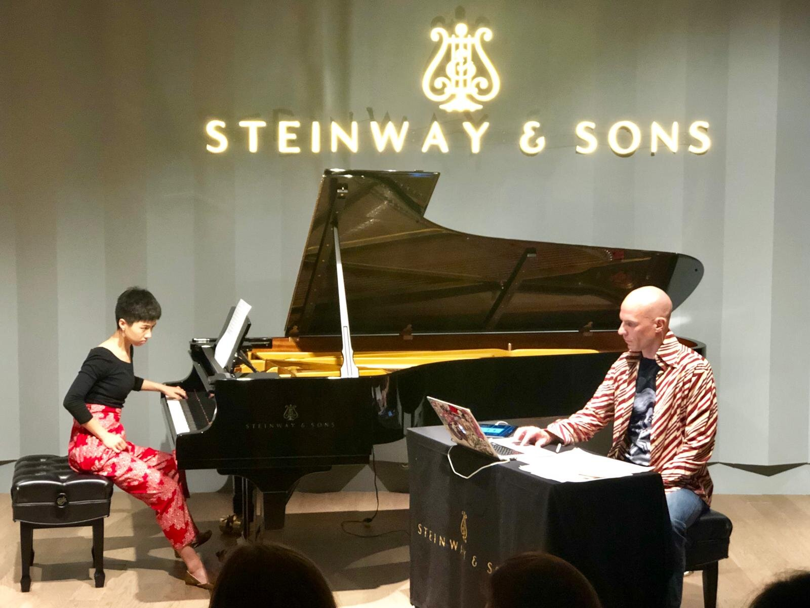 Tectonic Shifts with composer Felix Leuschner at Steinway Gallery Singapore