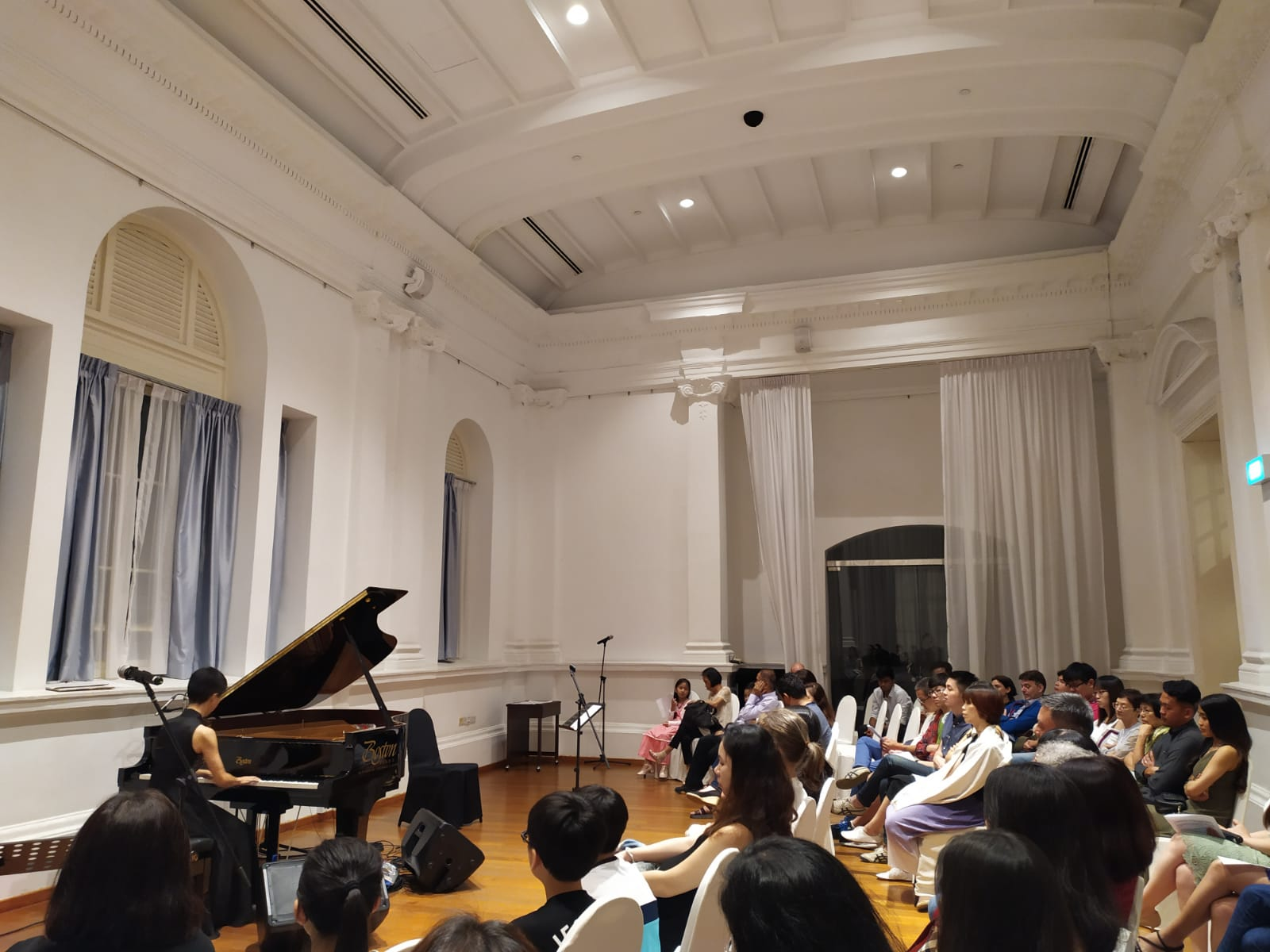 The Multitudes Within Us / solo piano recital