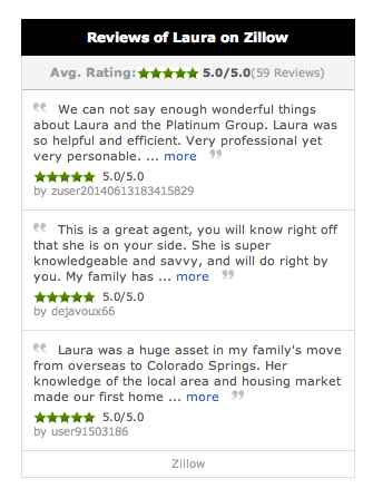 Real Estate Reviews Laura Kaan, Real estate agent
