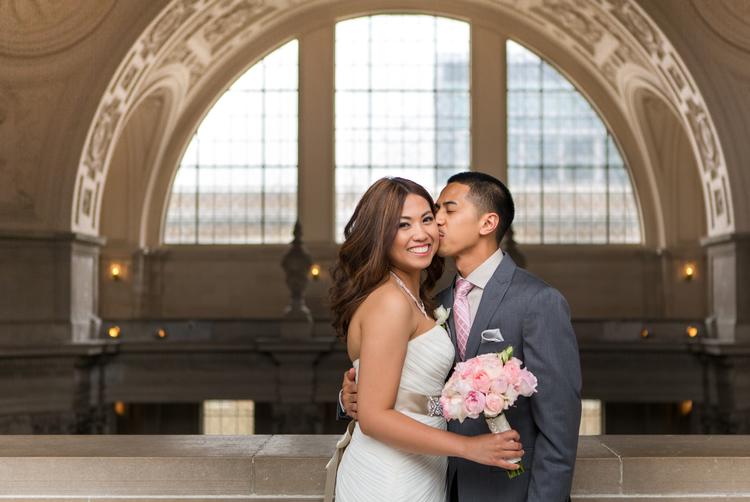 Romeo + Krissandra, San Francisco City Hall, CA, 2014