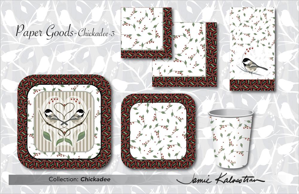 Paper Goods - Chickadee