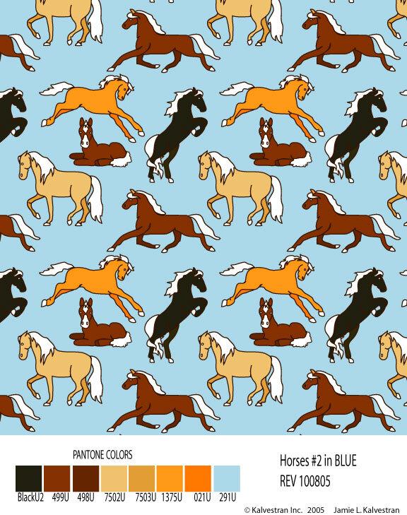 Horses#2MultiOnBLUE.jpg