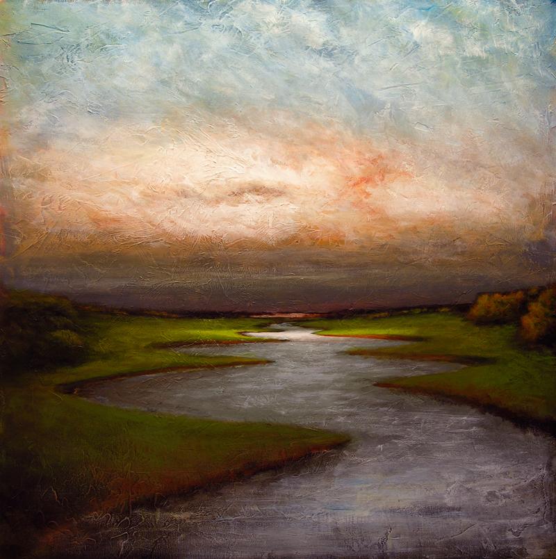 Sunlight on Crooked Creek