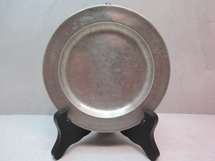 """5 1/8"""" 19th century butter plate  item #br-672"""