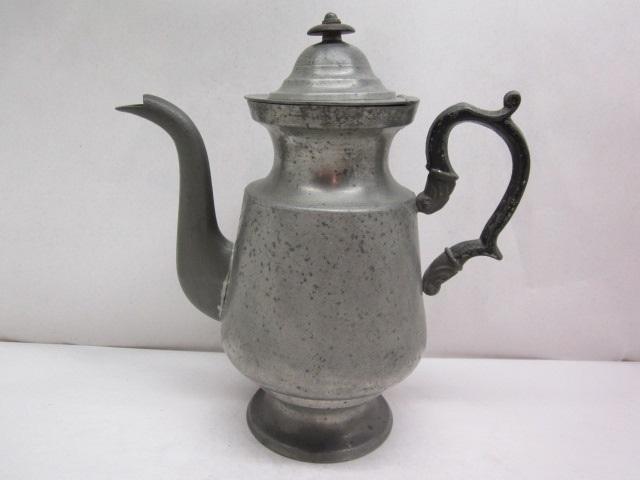 josiah danforth #13 coffeepot  item #BR-751