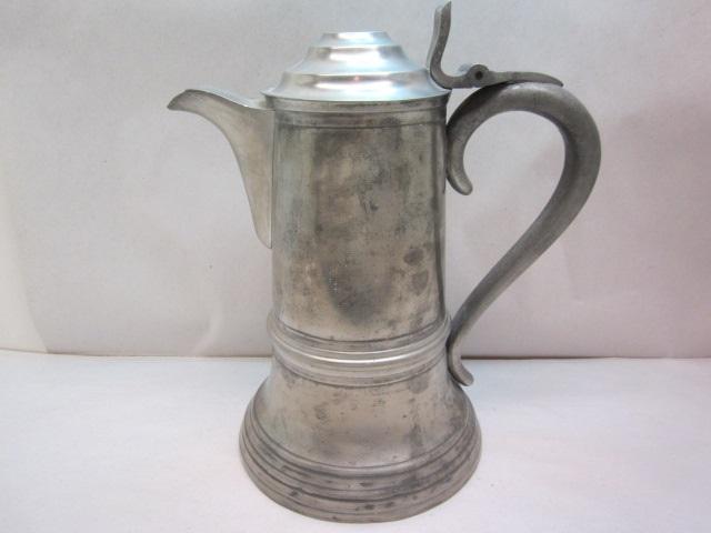 "11 1/8"" leonard, reed & barton 1840 flagon  item #br-816"