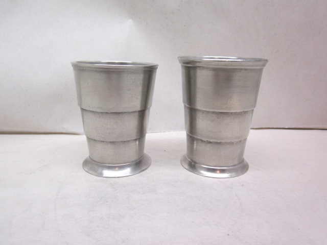 two american folding cups  item #4-921