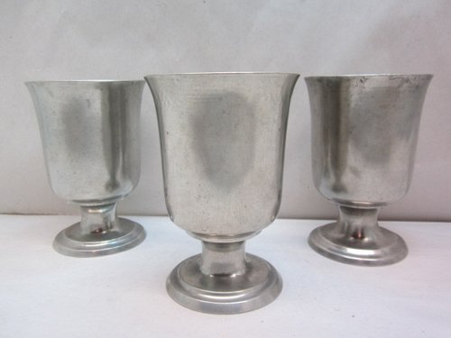 three boardman church goblets  item #br-822