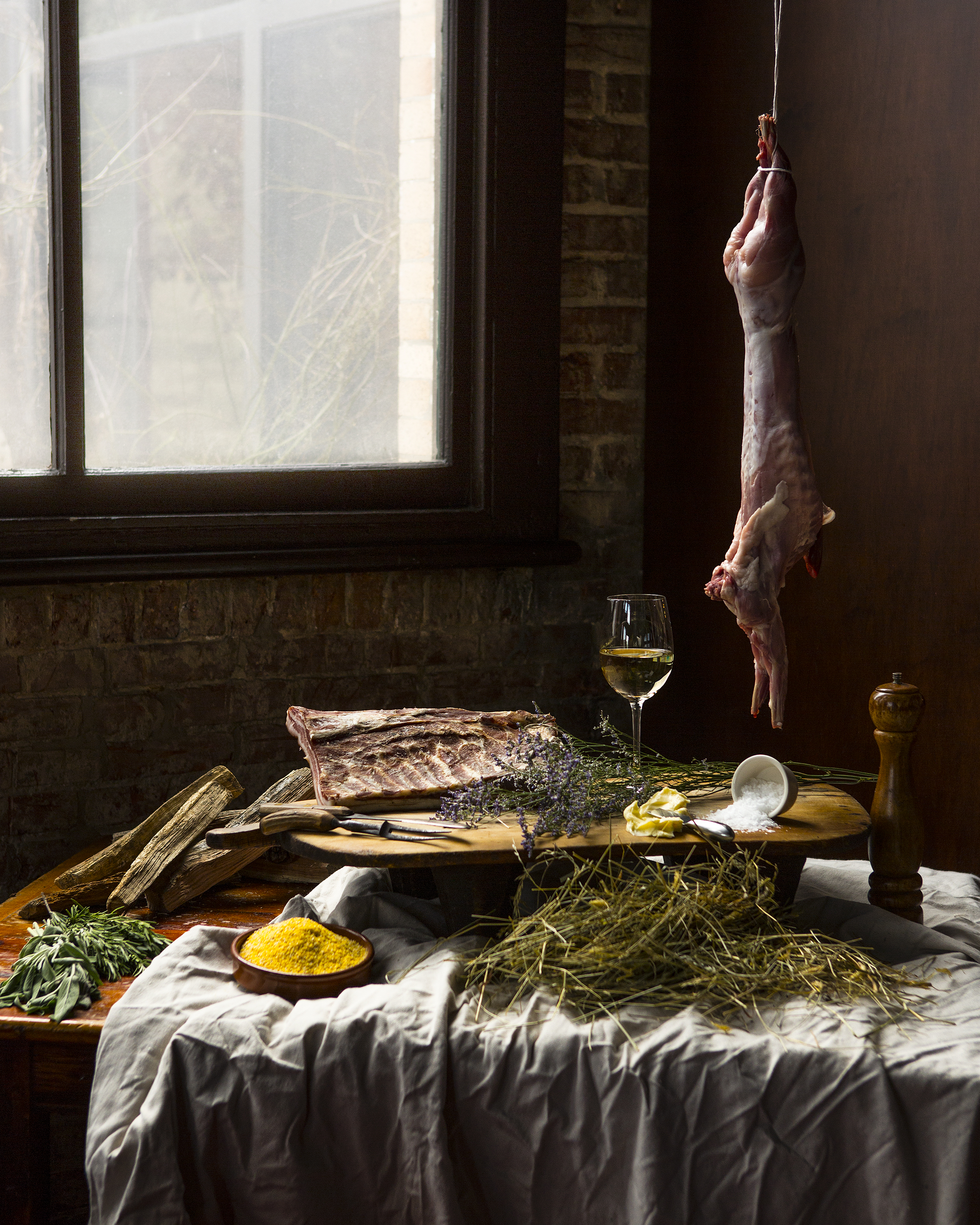 Osteria still life created by  Mike Persico .