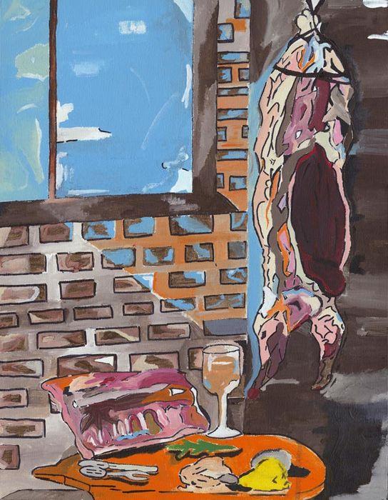 """Chef's Choice"" winner, Lynus Aubee, interpretation of Osteria still life."