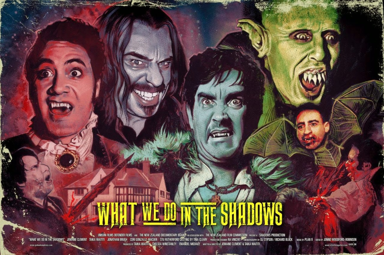 """""""What We Do in the Shadows"""" - by Graham Humphreys£45.00"""