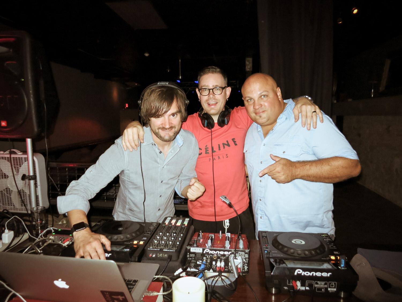 DJ Damian Ardenne, Jesse Walker & Johnny Peppinger