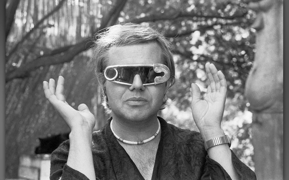 Safety Pin Sunglasses: HR Giger