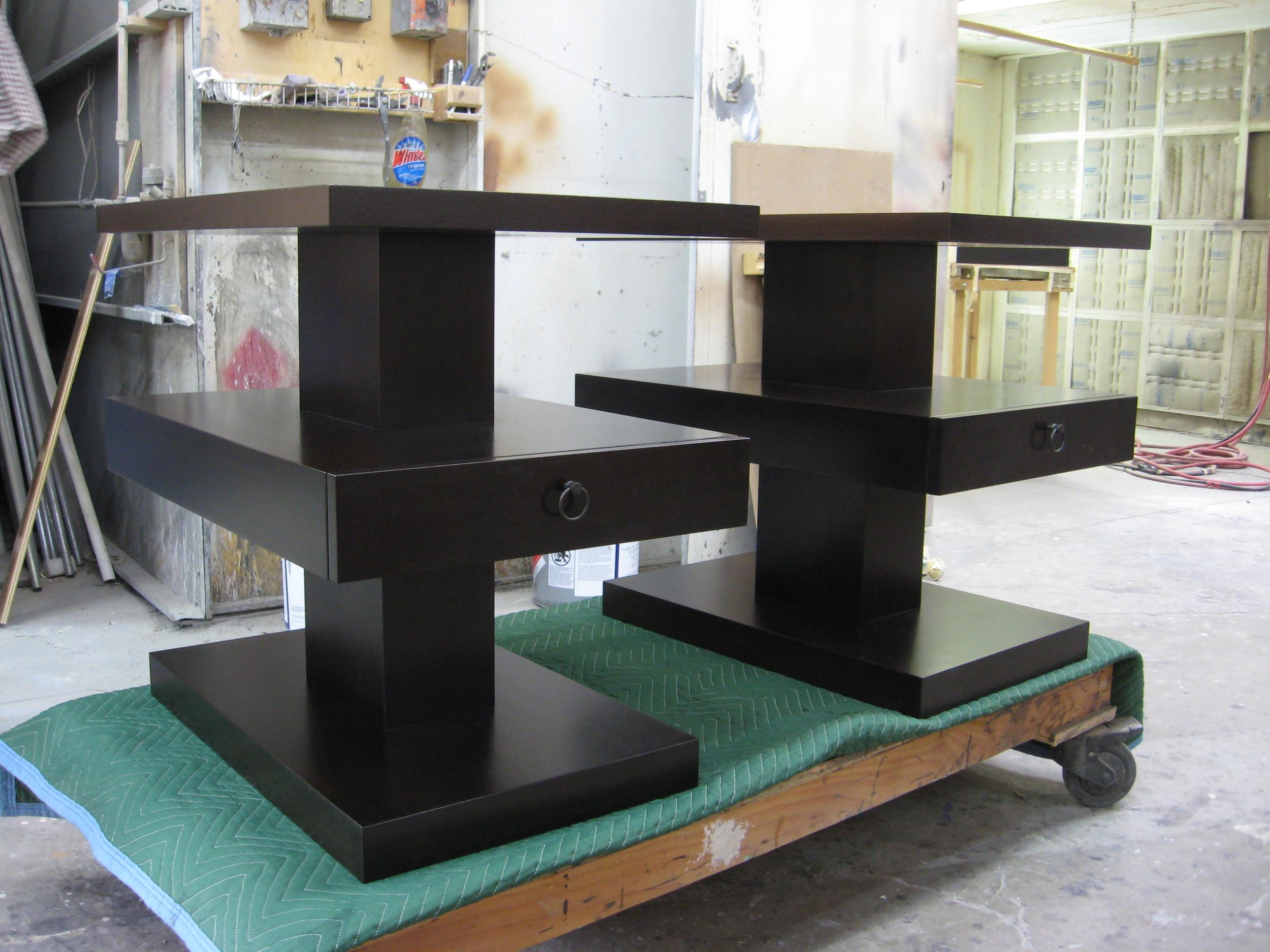 three-tiered nightstands