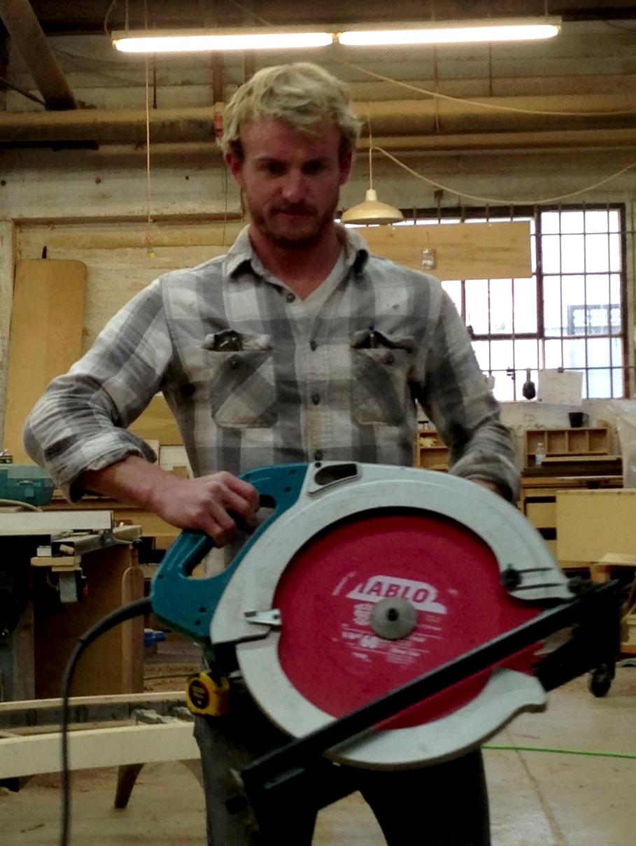 huge circular saw