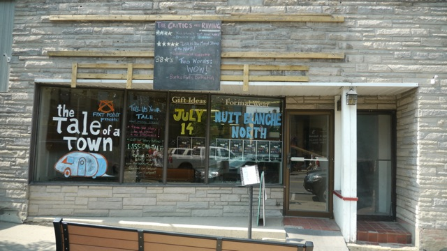 pop-up storefront - HUNSTVILLE!
