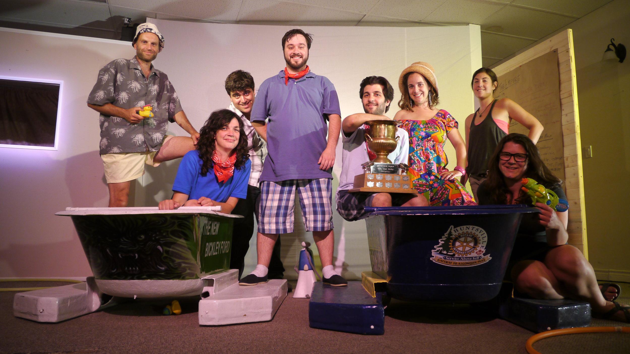 TOAT Huntsville Ontario Storygathering Tour Team