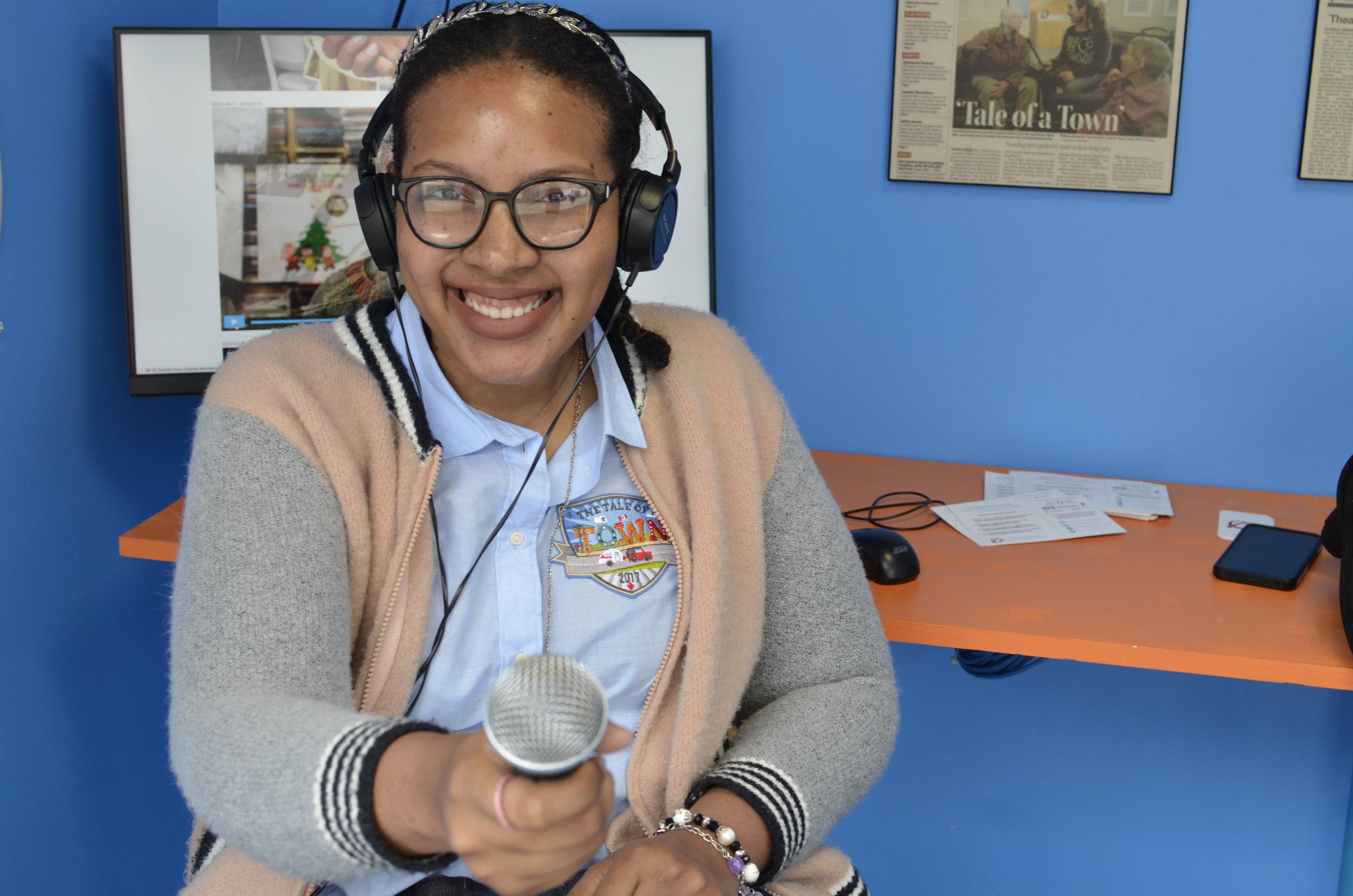The Tale of a Town Ottawa Inspiration Village Storygathering Artist, Tasha Jean Baptiste
