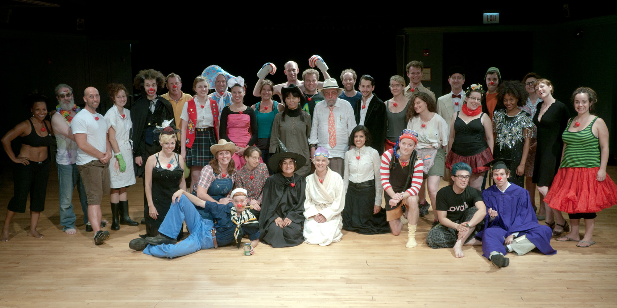 Philippe Gaulier's Chicago 2011 Class Photo