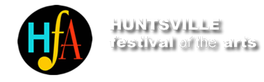 The Huntsville Festival of the Arts Logo