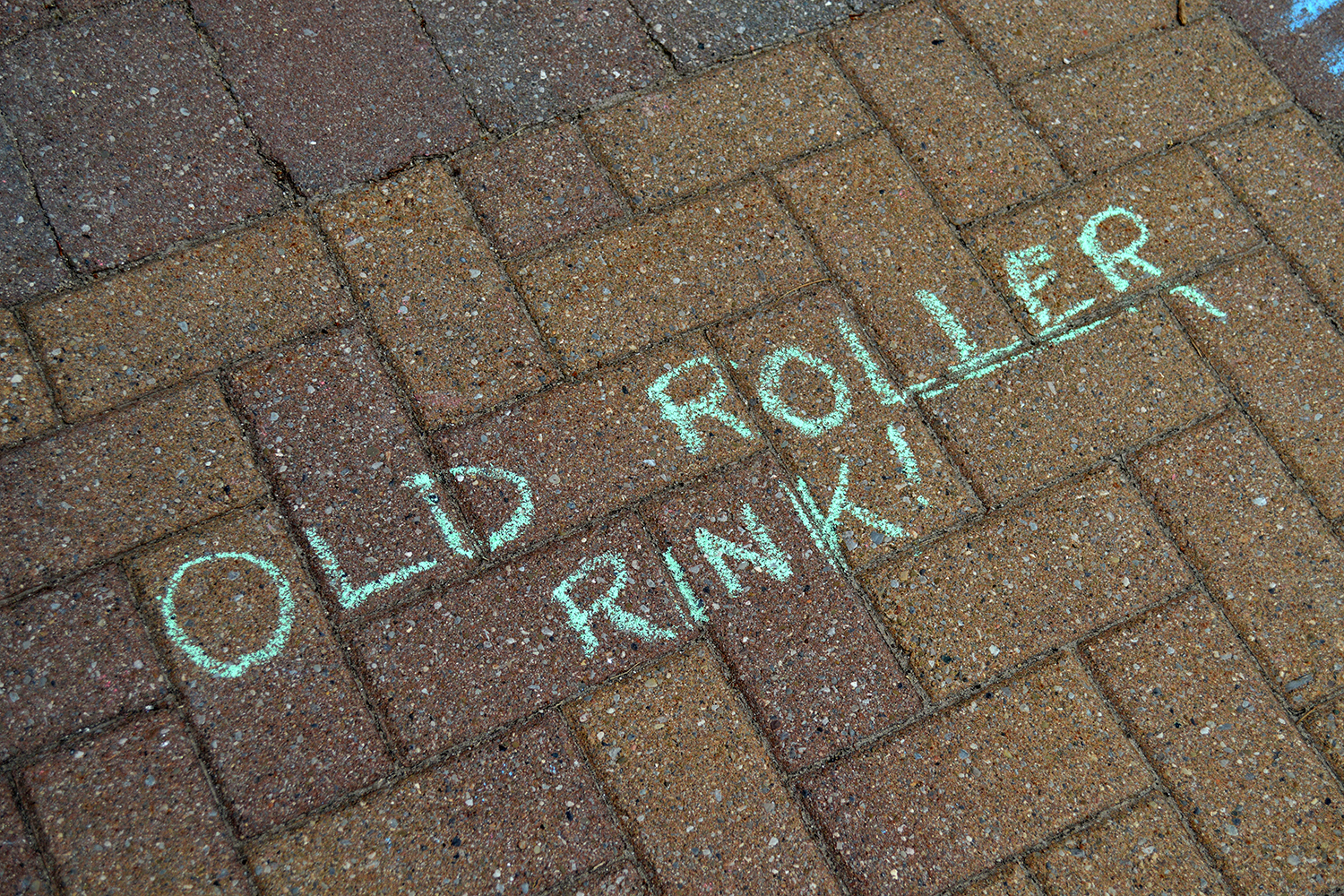 The Tale of a Town Kingston Ontario Old Roller Rink Hotspot Written Over Brick Floor