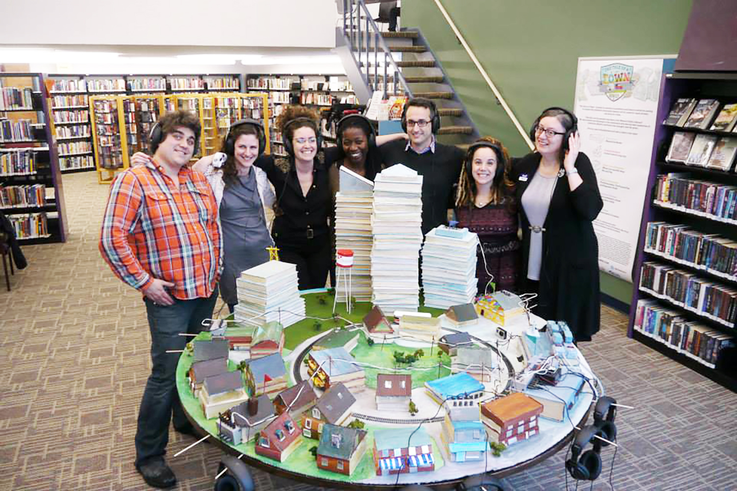 The Tale of a Town Toronto Mimico Storygathering Team at Mimico Centennial Library