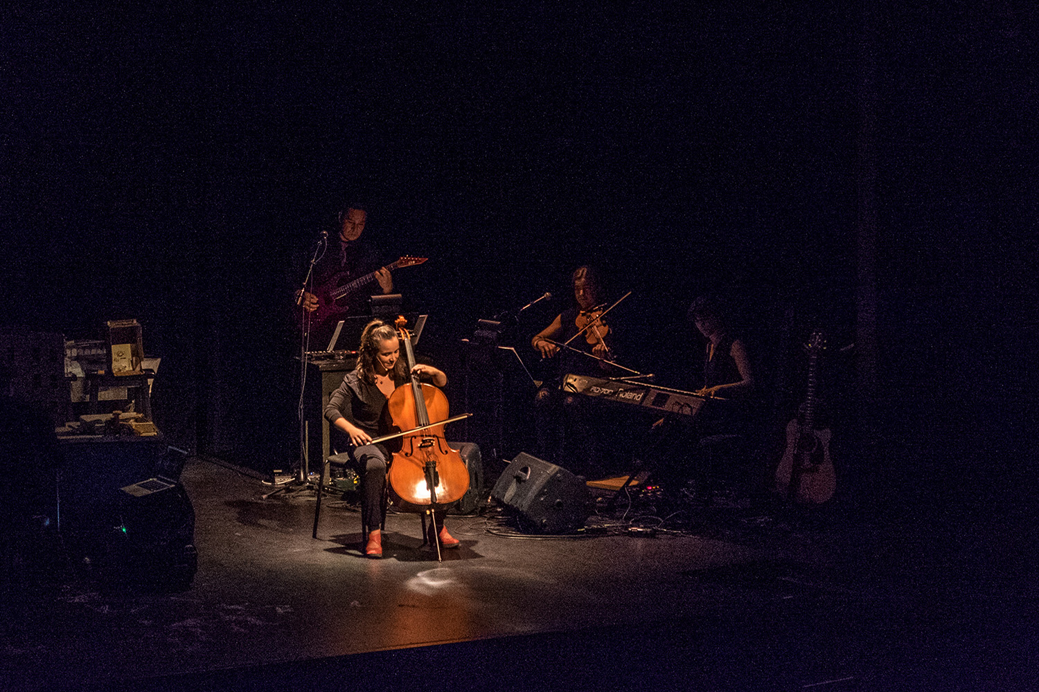 The Tale of a Town National Performance with Lisa Marie DiLiberto, Cello and YK Band