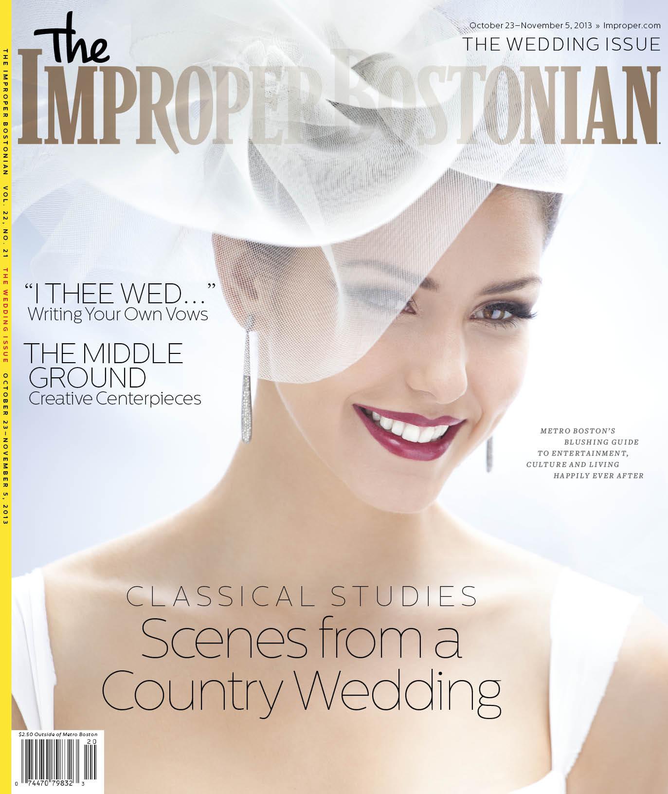 Improper Wedding Issue 2013 Ceremony Boston