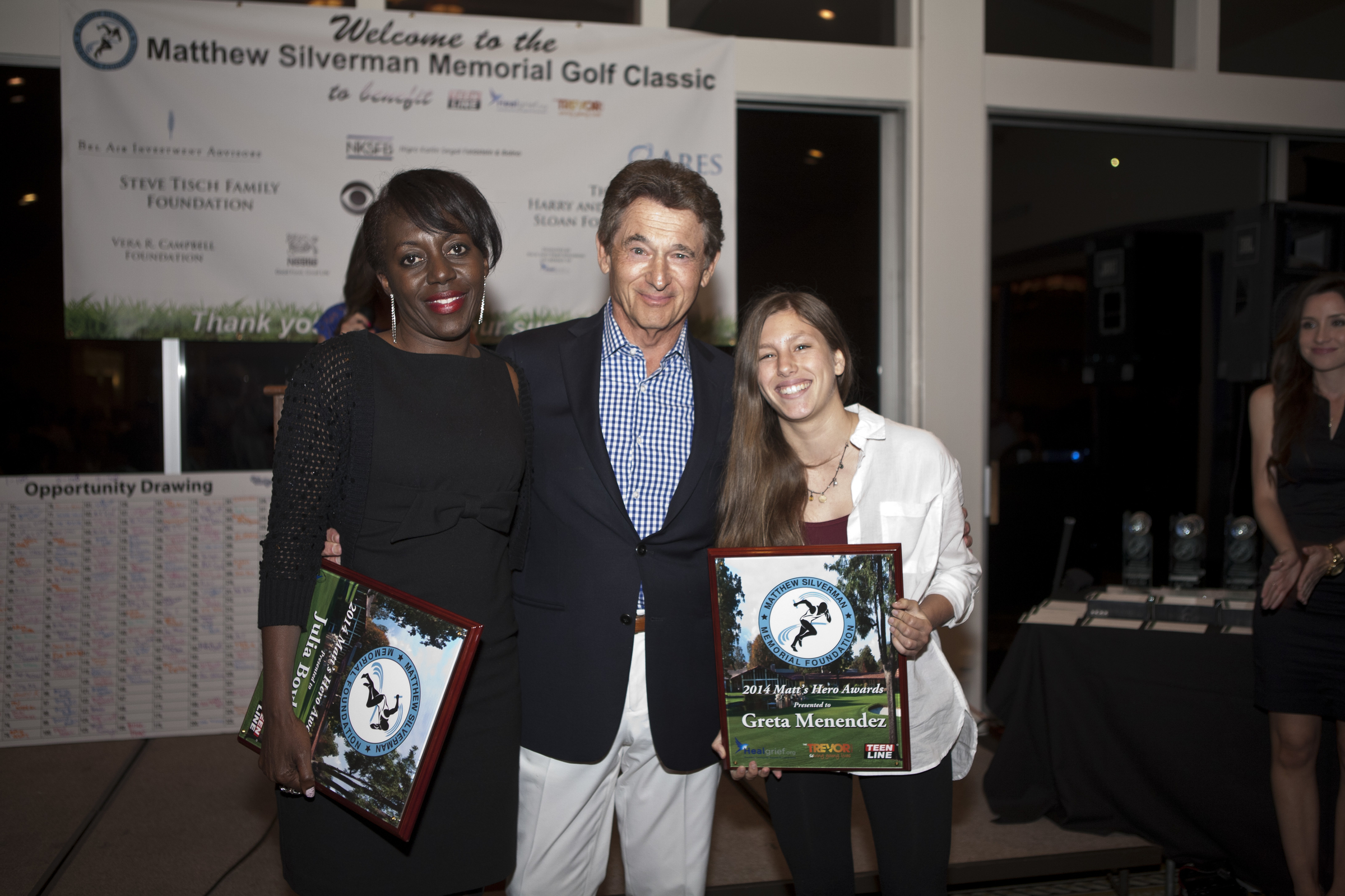 At the 2014 Matthew Silverman Memorial Golf TournamentonApril 21, we were delighted to  to announce  the first two recipients of this award, Ms.  Greta Melendez and M  rs. Julia  Bo  yle  . Thank you to Greta and  Julia  for all that you've done!