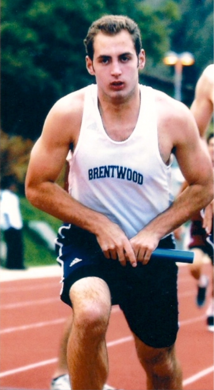 Captain of Brentwood's Track Team, Matthew Silverman, is fighting for yet another 1st place win.
