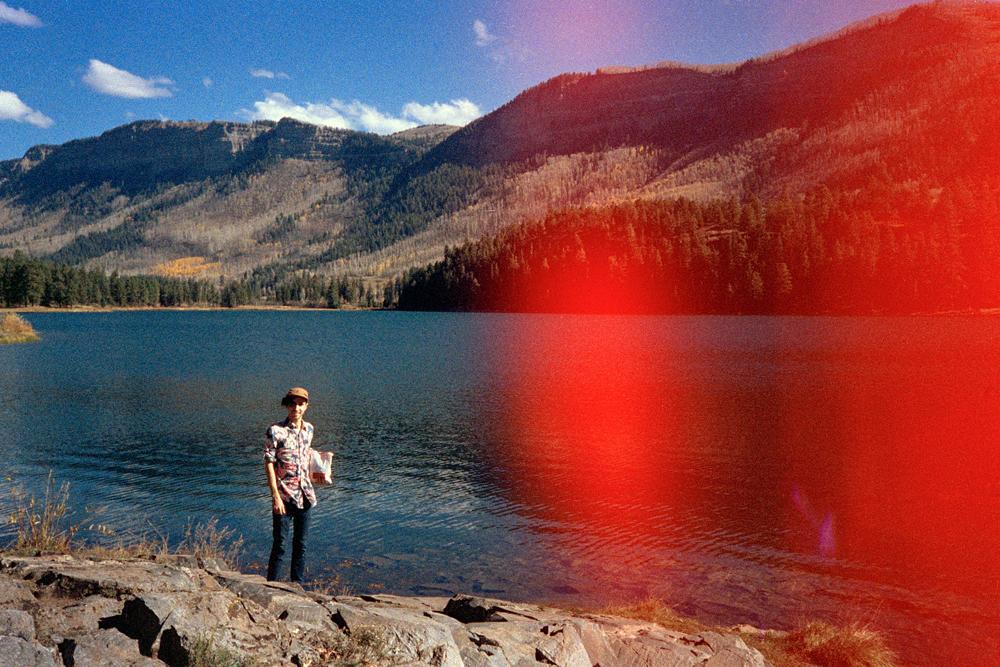 Grandma and I at Lake Nighthorse, CO, 2014