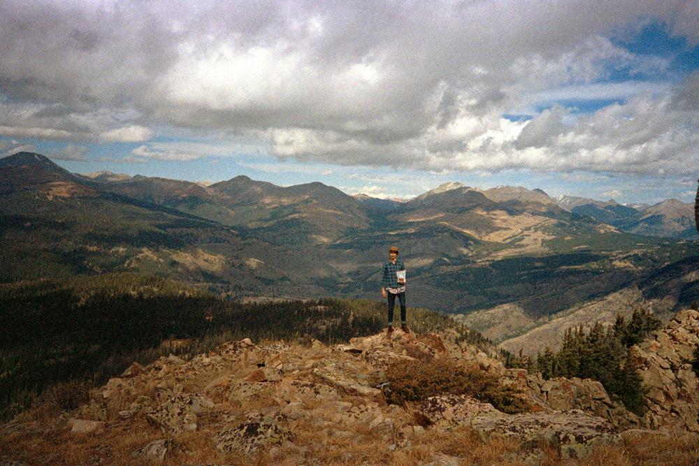 Grandma and I at 12,000' in Colorado, 2014