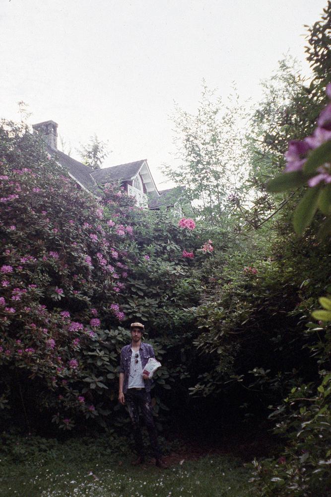 Grandma and I outside Kurt Cobain's house in Seattle, WA, 2015