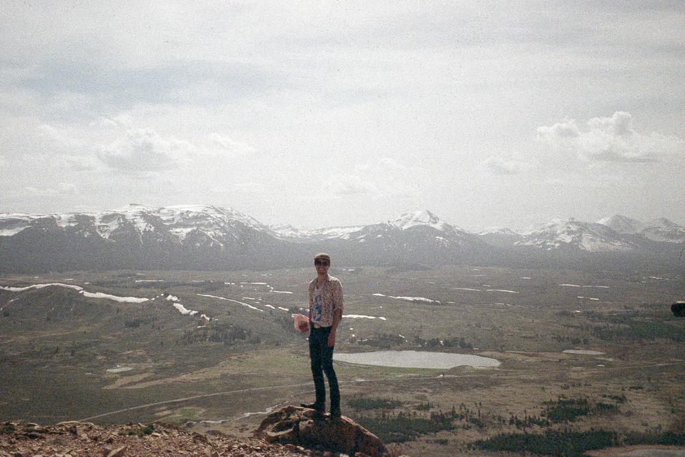 Grandma and I atop Bunsen Peak, Yellowstone Nat'l Park, 2015