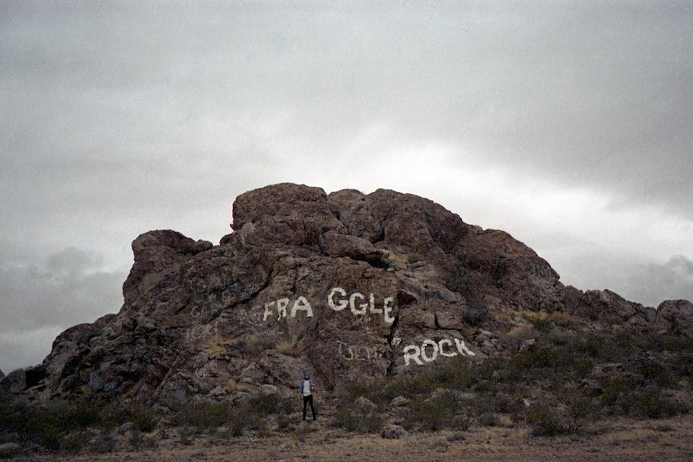 Grandma and I at Fraggle Rock in Lordsburg, NM, 2013