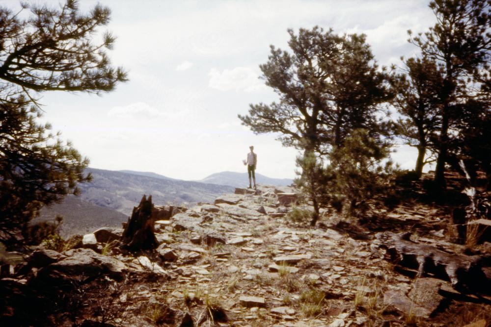 Grandma and I hiking in Colorado, 2014