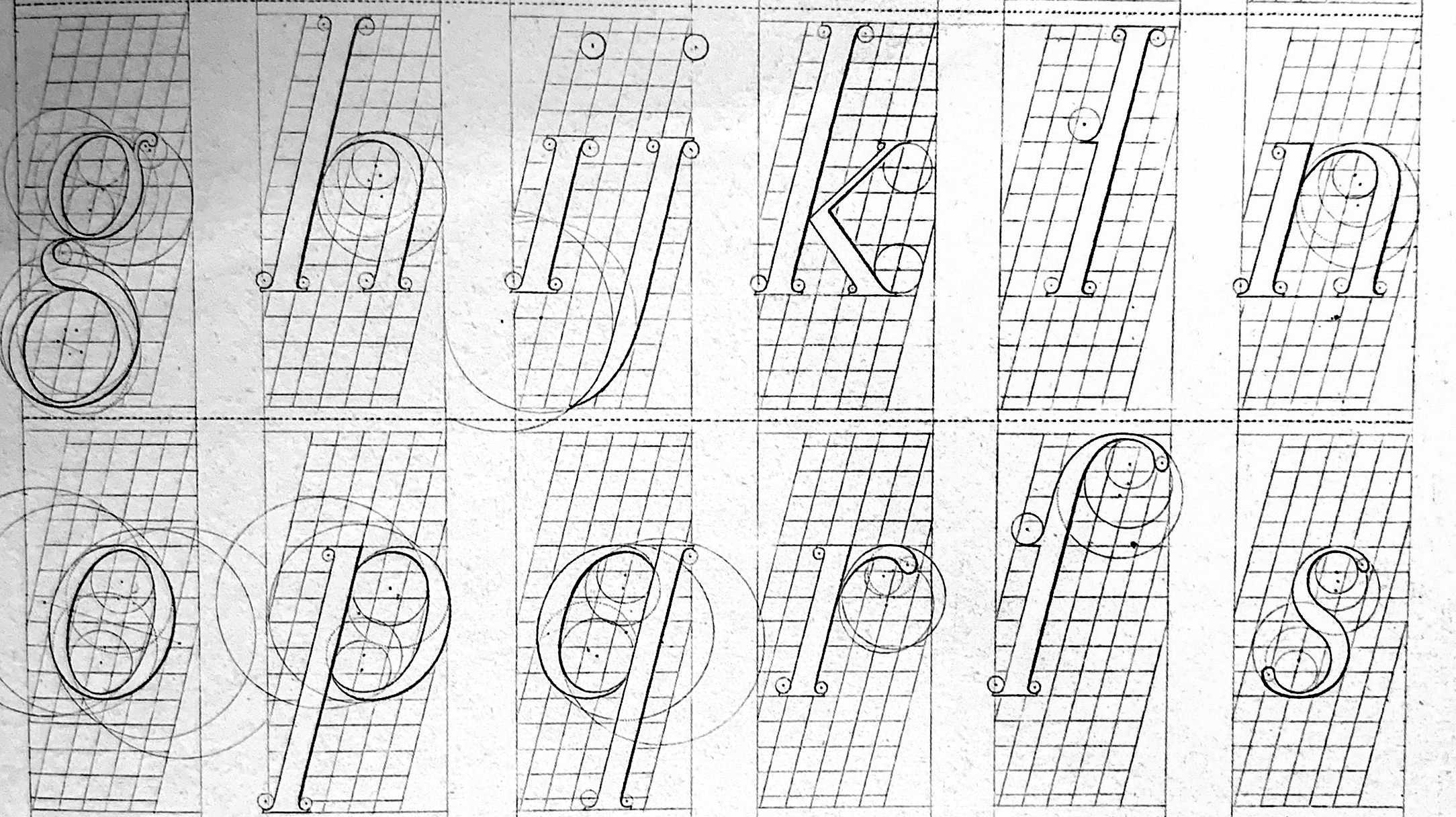 Romain du Roi Italics. University of Reading Archives.